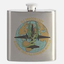 Cute Aviation Flask