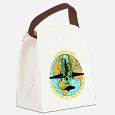 Cute Aviation Canvas Lunch Bag