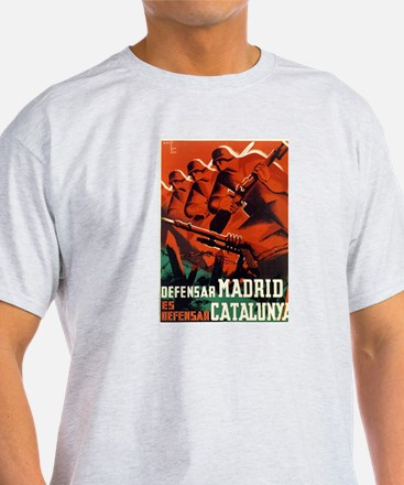 Defense of Madrid/Catalunya T-Shirt