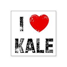 """Cute Kale Square Sticker 3"""" x 3"""""""