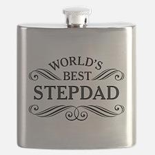 Worlds Best Stepdad Flask