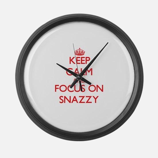 Cool Dressy Large Wall Clock