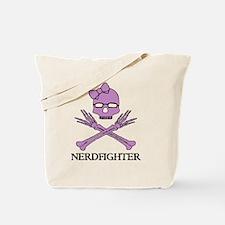 Nerdfighter Skull Tote Bag