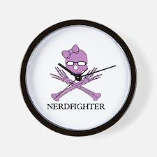 Nerdfighter Skull Wall Clock