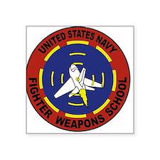 US Navy Fighter Weapon School Sticker (Rectangular