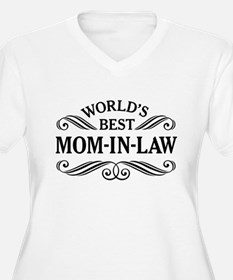 Worlds Best Mom-In-Law Plus Size T-Shirt