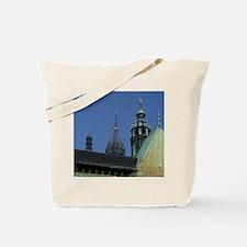 Maly Rynek (a city center square), back s Tote Bag