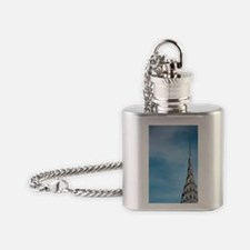 New York, New York City, Chrysler B Flask Necklace
