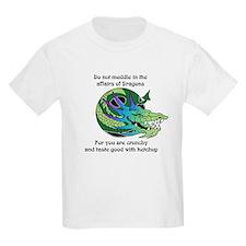 Dragon Crunchies Kids T-Shirt