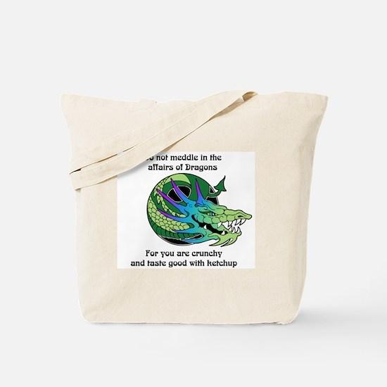 Dragon Crunchies Tote Bag