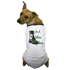 Cute Army girlfriend Dog T-Shirt
