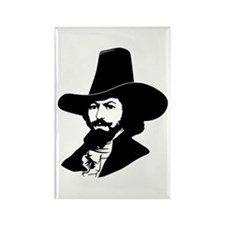 Strk3 Guy Fawkes Rectangle Magnet