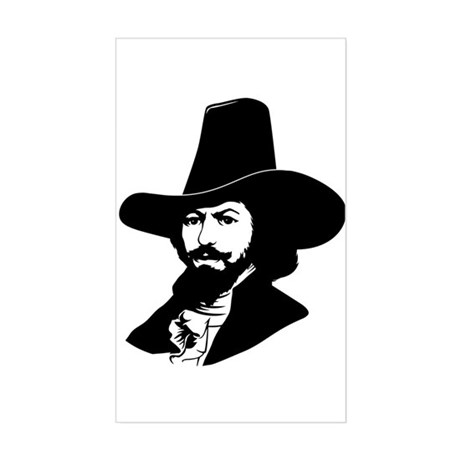 Strk3 Guy Fawkes Rectangle Sticker