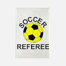 Soccer Referee Rectangle Magnet