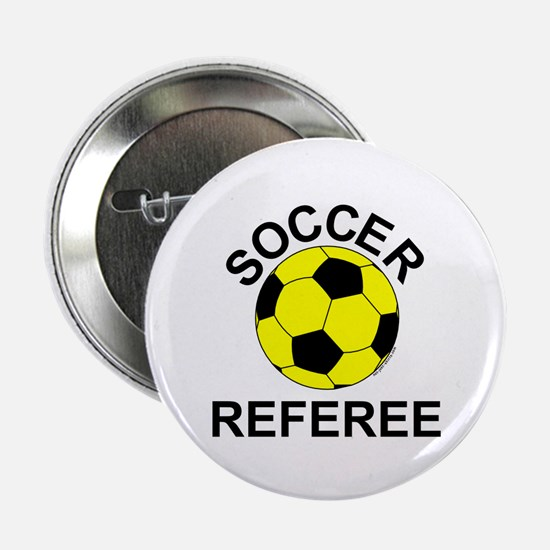 "Soccer Referee 2.25"" Button (100 pack)"