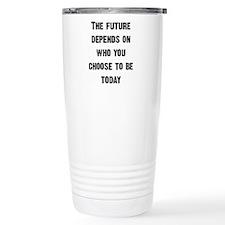The Future Depends... Travel Mug