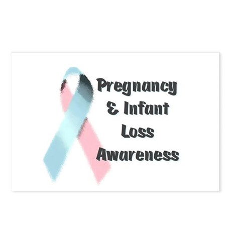 Pregnancy & Infant Loss Awareness Postcards (Packa