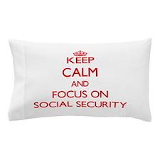Cute Social security Pillow Case