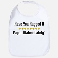 Hugged Paper Maker Bib