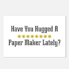 Hugged Paper Maker Postcards (Package of 8)