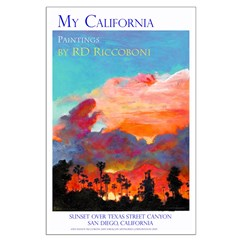 California Sunset Posters