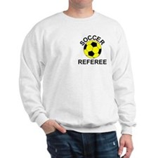 Soccer Referee Pocket Image Sweater