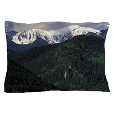 Zakopane Skip Chalets and Tatra Mounta Pillow Case