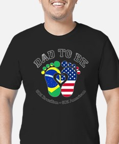 Brazilian American Dad to Be T-Shirt