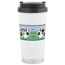 Cute Old english sheepdogs Travel Mug