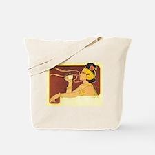 Art Nouveau Coffee Poster Tote Bag