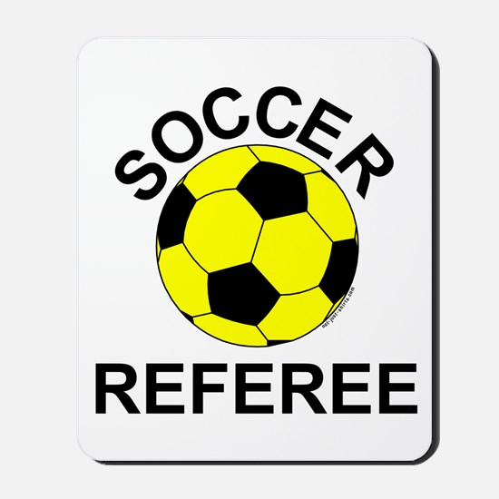 Soccer Referee Mousepad