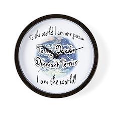 Dandie World2 Wall Clock