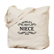 World's Best Niece Tote Bag