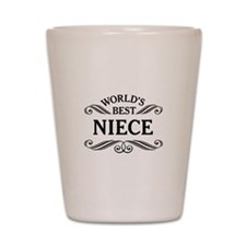 World's Best Niece Shot Glass