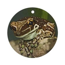 Frog Round Ornament