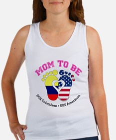 Colombian American Mom to Be Tank Top