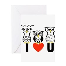 Say it with Owls Greeting Cards