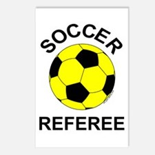 Soccer Referee Postcards (Package of 8)