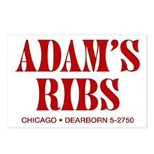 Adam's Ribs Postcards (Package of 8)