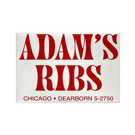 Adam's Ribs Refrigerator Magnet (10 pack)