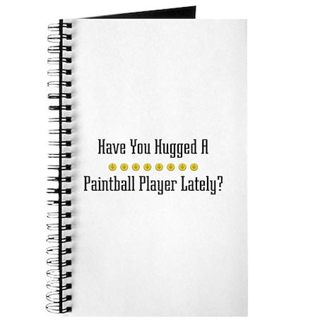 Hugged Paintball Player Journal