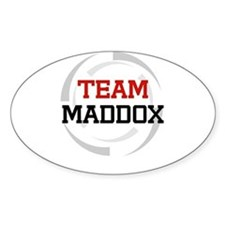 Maddox Oval Decal
