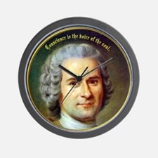 Rousseau - Conscience Wall Clock