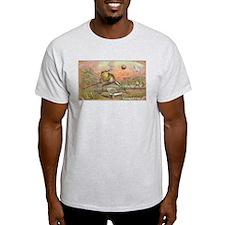 Vintage Frogs Baseball T-Shirt