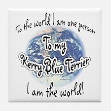 Kerry World2 Tile Coaster