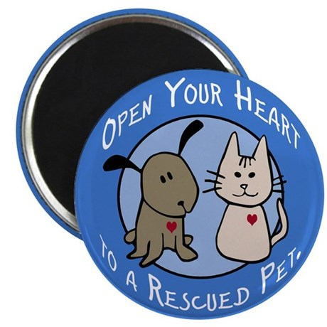 Open Your Heart Magnet