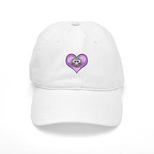 Cute Goofkins Mouse in Heart Baseball Cap