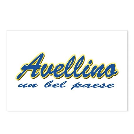 Avellino Italy Postcards (Package of 8)
