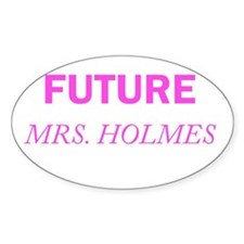 Future Mrs. Holmes Decal