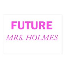 Future Mrs. Holmes Postcards (Package of 8)